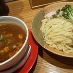 115483535 - カレーちゃーしゅーつけ麺大盛(麺量400g)up