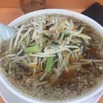 安福亭 - 料理写真:生馬麺(もやしラーメン)¥950