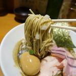 亀戸煮干中華蕎麦つきひ - 料理写真:味玉濃厚蕎麦