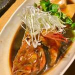 魚真 銀座店 - キンキ煮付け