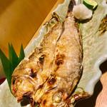 魚真 銀座店 - 甘鯛松笠焼き  本日一番のおススメ♬