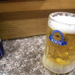 ちかっぱ豚骨ラーメン - ビールちゃん。♪(500円)