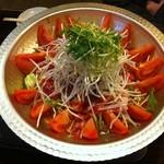 11549570 - 名物トマト鍋!!めちゃめちゃ美味しい!!またすぐ食べたくなる味