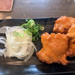 鶏そば - 唐揚げ