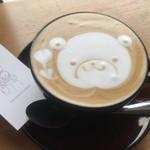 ブラックスミスコーヒー - ホットカフェラテ