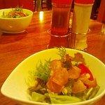 日本の洋食キートン - エミフル松前「日本の洋食キートン」サラダ