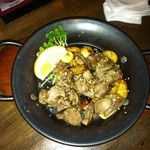 韓韓麺 - 砂肝焼き