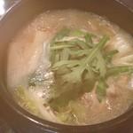 11550421 - 念願の参鶏湯!