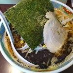 麺の心 - 焦がしニンニク味噌ランチ ¥500