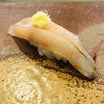 寿司割烹・難波 - 鰆  柔らかく生姜との相性とても良い