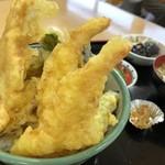かあさんのおむすびの店 - 料理写真:常念天丼 880円
