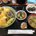 かあさんのおむすびの店 - 常念天丼 880円