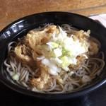 ごん兵衛 - 料理写真:天ぷらそば 250円