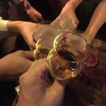NEO SHOT BAR 深海の洞窟 - レアなメンバーで乾杯〜(๑╹ω╹๑ )