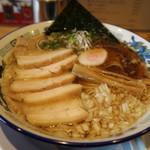 阿波尾鶏中華そば藍庵 - 濃厚肉煮干し中華そばです☆ 2019-0914訪問