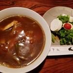 くらしき - 料理写真:カレーあんかけうどんセット