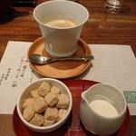 蔵人厨 ねのひ - 半券特典のコーヒー