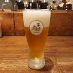 蔵人厨 ねのひ - 生ビール(650円)