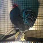 トラットリア シャント - 大きな鶏が目印