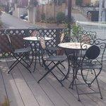 トラットリア シャント - 天気のいい日はテラスでランチ