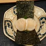 115524880 - ホタテのお寿司