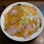 金の玉子 - とんこつラーメン(750円)