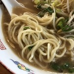115525547 - らーめん 中                       麺は手揉みの中細麺