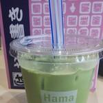 はま寿司 - ◆黒糖タピオカ抹茶ラテ◆250円♪
