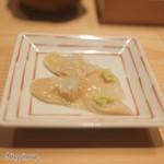 Sushi Sho - ミル貝のレバー