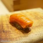 Sushi Sho - カッパーリバーサーモンの握り