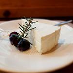 オリーブの木 - 料理写真:レモンのレアチーズケーキ