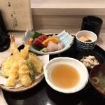 115530752 - 桜御膳の寿司なし                       全体感