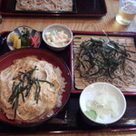 尾張屋 - 料理写真:親子丼セット(830円)