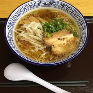 シルクウェイにちはら らーめん屋 - 料理写真:しょうゆラーメン¥650