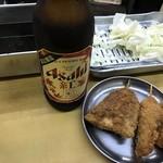 源氏 - 均一料金串カツ+アジフライ