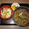 Hanagoyomi - 料理写真:2019年の「ミニカツ丼肉うどん」1420円