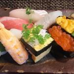 玄海鮨 - 上にぎり ランチ  1500円+税