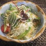 玄海鮨 - サラダ
