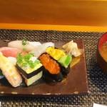 玄海鮨 - 貝汁 も付きます