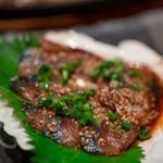 魚河岸 番屋 - 2019.9 秋サバ ゴマ和え(680円)