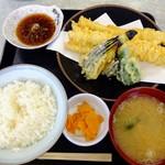 蒔田 - 料理写真:穴子天ぷら定食