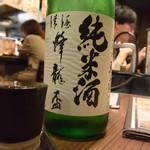 むさし - 日本酒(蜂龍盃 純米酒)