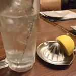 むさし - 生搾りレモンサワー