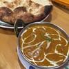 インドレストラン ブシャーン - 料理写真:チキンカレー激辛とガーリックナン