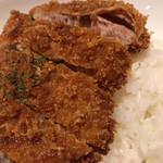 キッチンカロリー - ハーブ育ち豚のカツカレー(980円、サラダ付き)