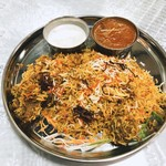 Biryani House - ビリヤニランチ 980円 カレーはマトンを激辛に
