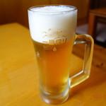 あゆや よねくら - 生ビール!