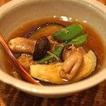 東白庵かりべ - 秋なすの旨煮