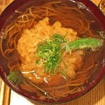 東白庵かりべ - 天ぷらそば