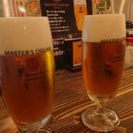 水炊き・焼き鳥 とりいちず酒場 - ビール!